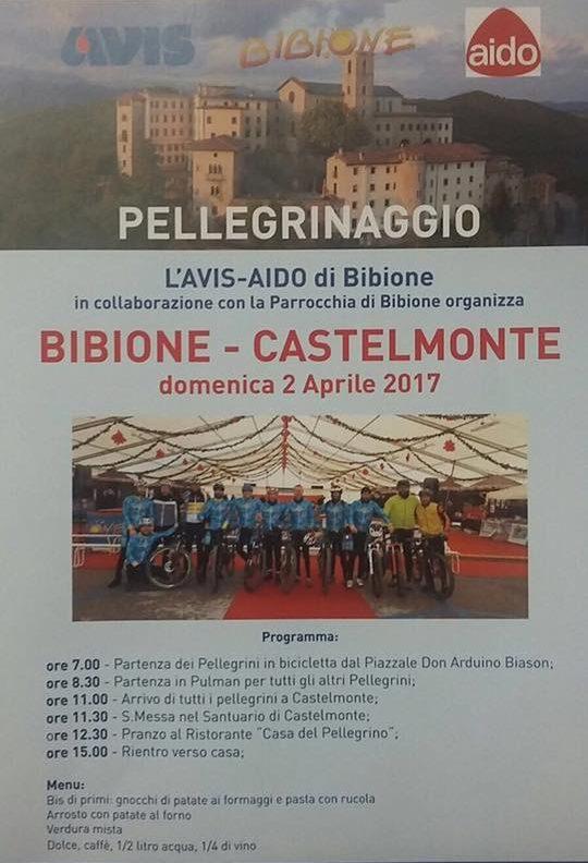 pellegrinaggio mtb Bibione - Castelmonte